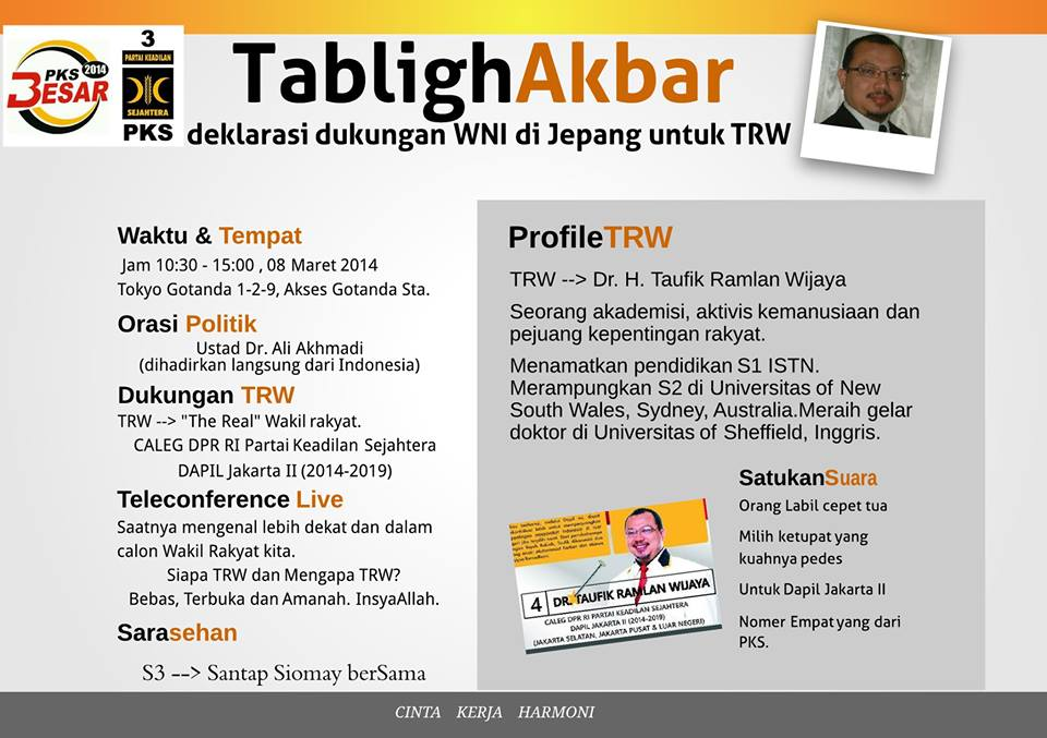 Poster Final Tabligh Akbar 8 Maret